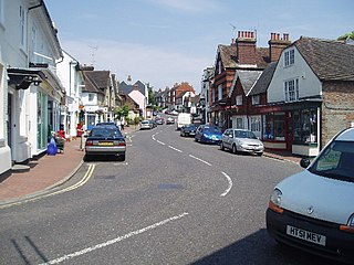 Cuckfield town in West Sussex, England