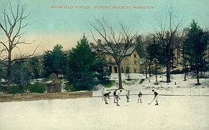 Hillfield Strathallan College - Postcard of Highfield School, circa 1910
