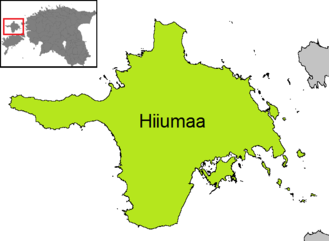 Municipalities of Estonia - Hiiumaa Parish, the only municipality of Hiiu County