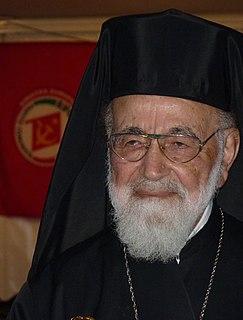 Hilarion Capucci Melkite Greek Catholic Church Archbishop of Caesarea