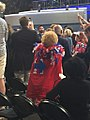 Hillary supporter wearing cape CoUw974XEAAAawl.jpg