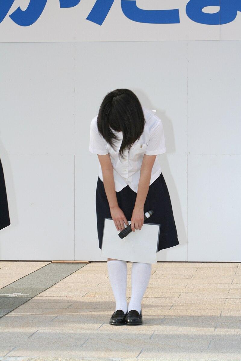 Reverencia mujer japonesa