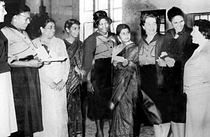 Federation of South African Women - Members of the Federation of South African Women in 1955 gathered near Apartheid era prison to protest against Apartheid.