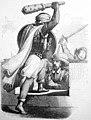 Historia de la conquista del Perú, 1851 Heroica defensa del inca.jpg