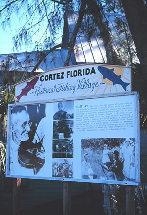 Cortez, Florida - Historic fishing village of Cortez