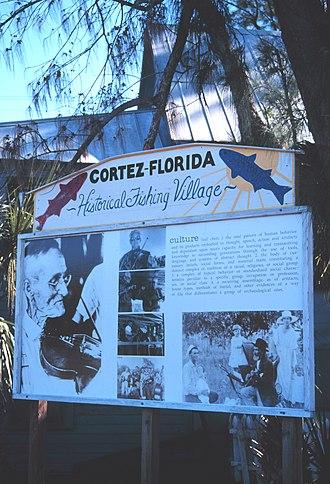 Cortez, Florida - Historic fishing village of Cortez