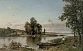 Hjalmar Munsterhjelm - Lake Landscape from Häme.jpg