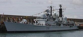 HMS York (D98) - Image: Hms york