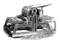Hoe's one cylinder printing press.png