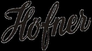 Höfner German manufacturer of musical instruments
