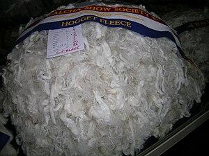 Wool - Champion hogget fleece, Walcha Show