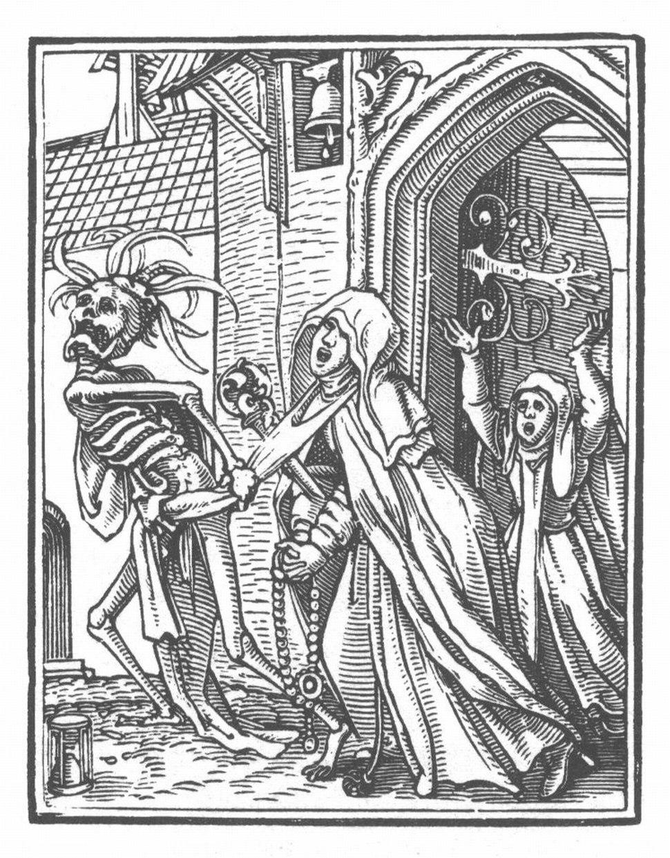 Holbein Danse Macabre 15