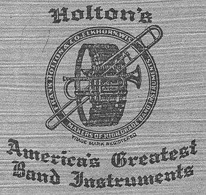 Holton (Leblanc) - Image: Holton Logo 1920
