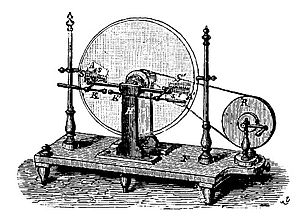 Electrostatic generator - Holtz's influence machine