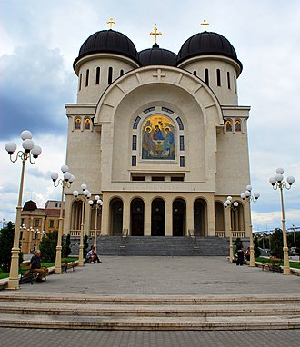 Religion in Romania - The Holy Trinity Romanian Orthodox Cathedral in Arad