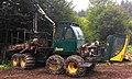 Holzerntemaschine Modell Entracon, Harvester Forwarder.jpg