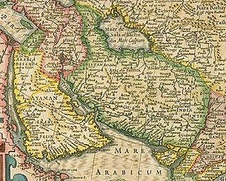 Greater Iran - Image: Hondius 1610