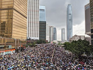 2019–2020 Hong Kong protests Pro-democracy demonstrations and other civil disobedience