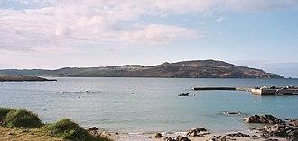 Horn Head - View of Horn Head taken looking across Sheephaven Bay from Portnablagh.