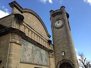 Horniman Museum - Image: Horniman Museum tower, 2015