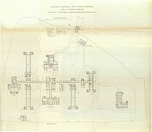 London Road Community Hospital - Image: Hospitals and Asylums of the World Portfolio of Plans, p. 14