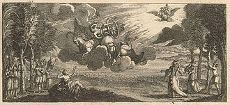 Phaëton (Lully) - 1709 illustration for Phaëton