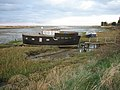 Houseboat up the creek - geograph.org.uk - 603855.jpg