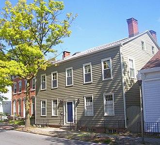 Kingston Stockade District - South Smith House on Clinton Avenue