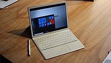 Tablet Huawei Matebook 2 w 1 z systemem Windows 10 (26627094621).jpg