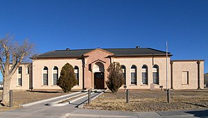 Hudspeth County, Texas - Image: Hudspeth county courthouse 2009