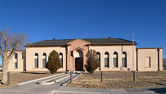 Sierra Blanca, Texas - Hudspeth County Courthouse
