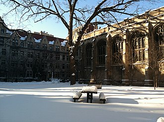 Hutchinson Commons - Image: Hutchinson Courtyard (University of Chicago)