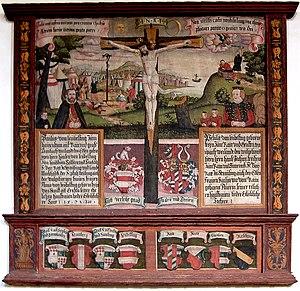 Graben von Stein - Coat of arms of the Von Graben von Stein, Von Rain zu Sommeregg and Leubelfing and other East Tyrolian and Carinthian noble families