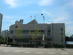 Hwaseong Hyangnam Post office.JPG
