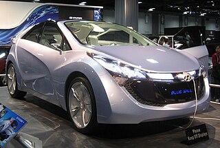 Hyundai Blue-Will Motor vehicle
