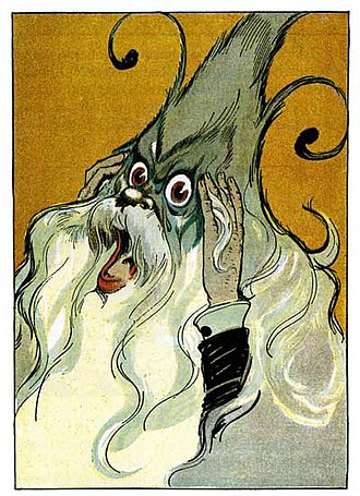 Nome King - Nome King illustration by John R. Neill