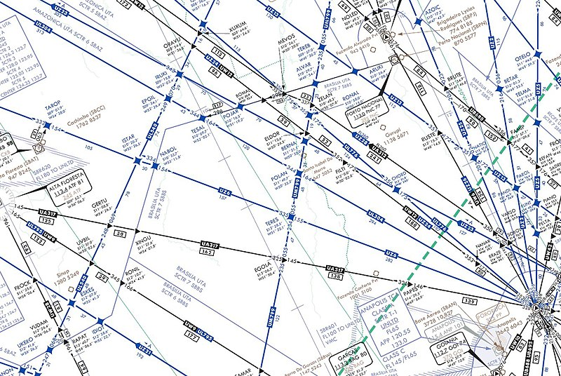 File:IFR high altitude en route chart section - Teres - UZ6 airway and Cachimbo airbase.jpg