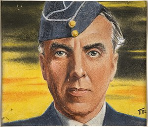 Richard Peirse - Portrait of Peirse commissioned by the Ministry of Information circa 1943