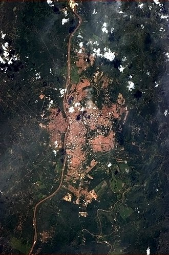 Teresina - Teresina pictured from the International Space Station