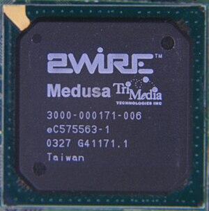 TriMedia (mediaprocessor) - Medusa TriMedia MCU