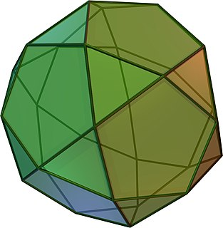 Icosidodecahedron Archimedean solid