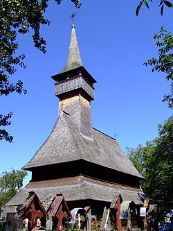 Wooden church.
