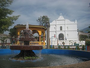 Zacatecoluca, La Paz - Image: Iglesia Colonial San Sebastian Analco, Zacatecoluca
