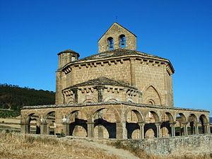 Spanish Romanesque - Santa María de Eunate.