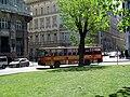 Ikarus sightseeing bus, István Széchenyi Square, 2011 Budapešť 0844.jpg