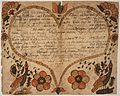 Illustrated family record (Fraktur) found in Revolutionary War Pension and Bounty-Land-Warrant Application File... - NARA - 300130.jpg
