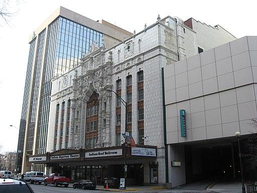 Indiana Theatre, Indianapolis, in 2010