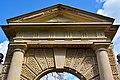 Inigo Jones Gate looking up (13755659855).jpg