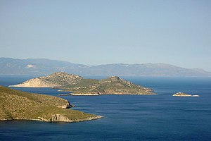 Colonel Sun - Amis drew upon a holiday in the Aegean islands to create a realistic Greek setting.