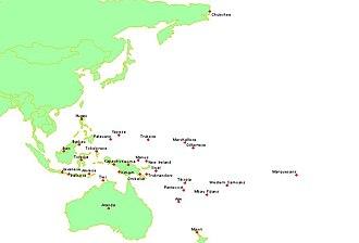 Standard cross-cultural sample - Image: Insular pacific
